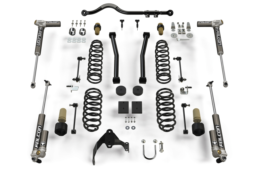 Teraflex 2.5in Sport ST2 Suspension System with 3.2 Falcon Shocks (Part Number:1212032)
