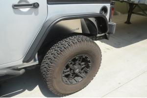 DV8 Offroad Aluminum Rear Inner Fendes Raw  (Part Number: )