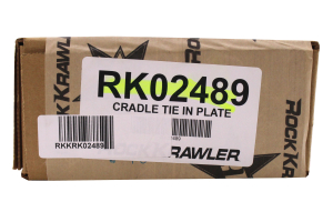Rock Krawler Universal 4-Link Cradle Tie Plate (Part Number: )