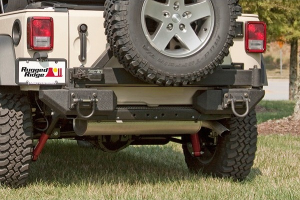 Rugged Ridge Aluminum XHD Rear Bumper Pods - JK