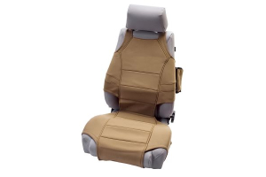 Rugged Ridge Front Seat Vests Tan (Part Number: )