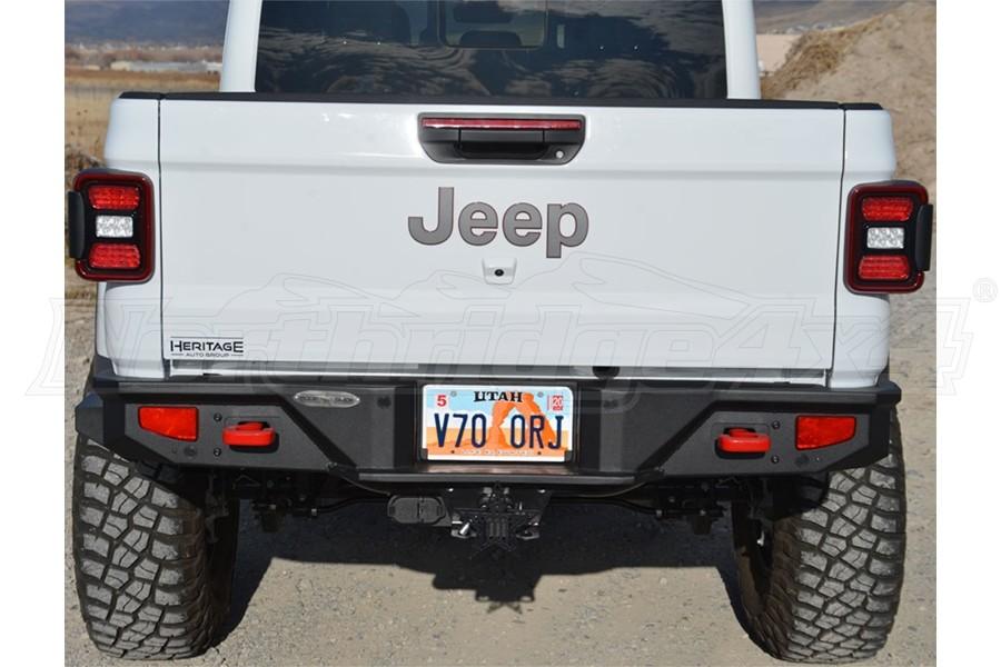 Rock-Slide Engineering Rigid Series Full Width Rear Bumper - JT