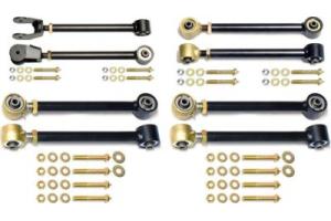 Currie Enterprises Complete Johnny Joint Control Arm Set - TJ