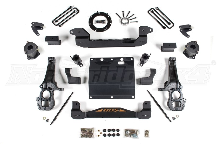 BDS Suspension ZR2 4in Lift Kit (Part Number:745H)