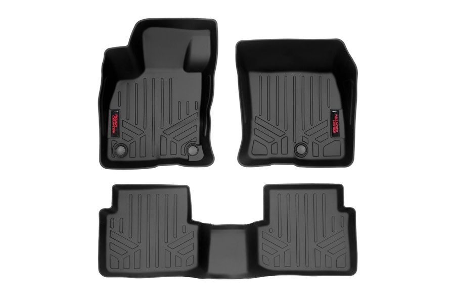 Rough Country Front and Rear Floor Mats  - Ford Bronco Sport
