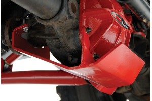 Rancho Performance Front Differential Glide Plate Dana 44 Red (Part Number: )