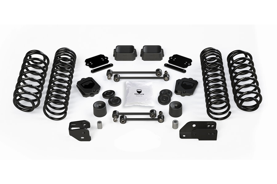 Teraflex 4.5in Coil Spring Base Lift Kit - No Shocks - JL 4Dr