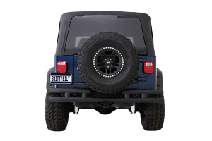 Smittybilt Tubular Rear Bumper With Out Hitch Gloss Black (Part Number: )