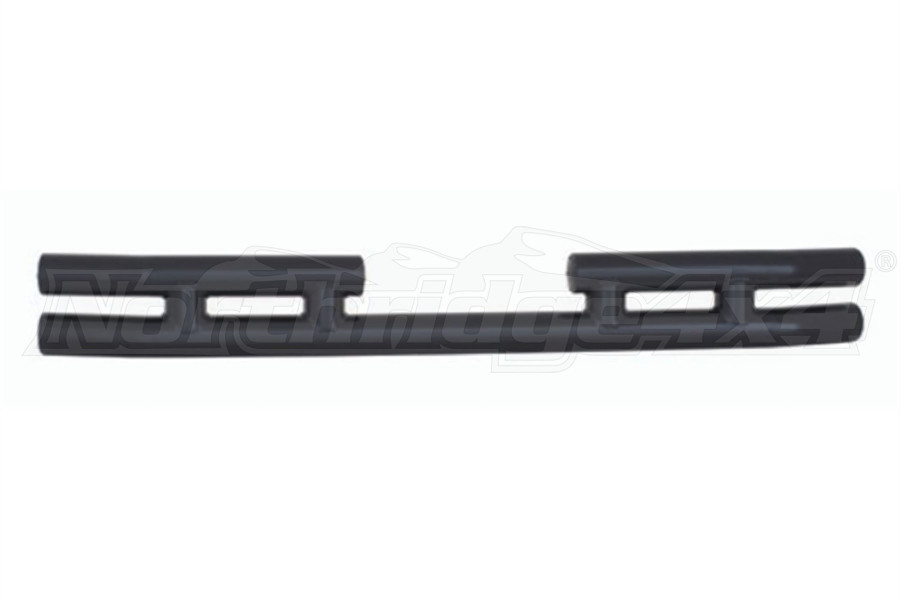 Smittybilt Tubular Rear Bumper With Out Hitch Gloss Black (Part Number:JB44-R)