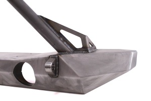 Crawler Conceptz Ultra Series Mid Width Front Bumper w/Stinger And Tabs Bare (Part Number: )