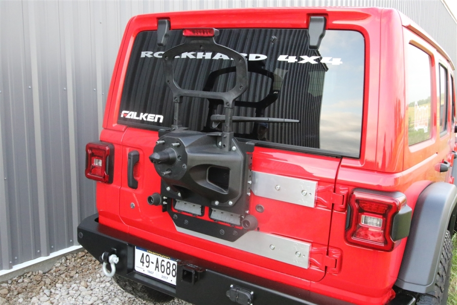 Rock Hard 4x4 Freedom Series Body Mount Tire Carrier  - JL