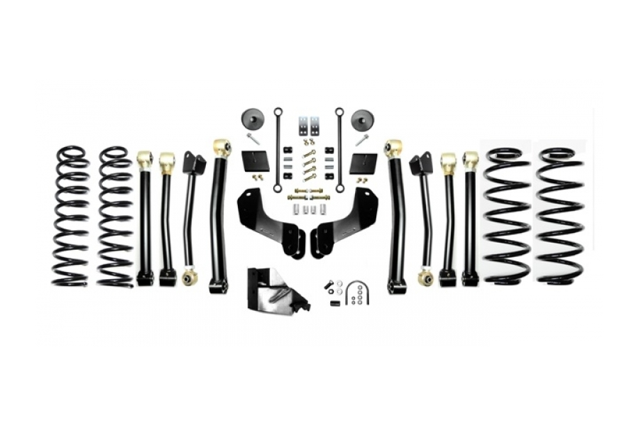 EVO Manufacturing 3.5in Enforcer Overland Lift Kit Stage 4 (Part Number:3014S4)