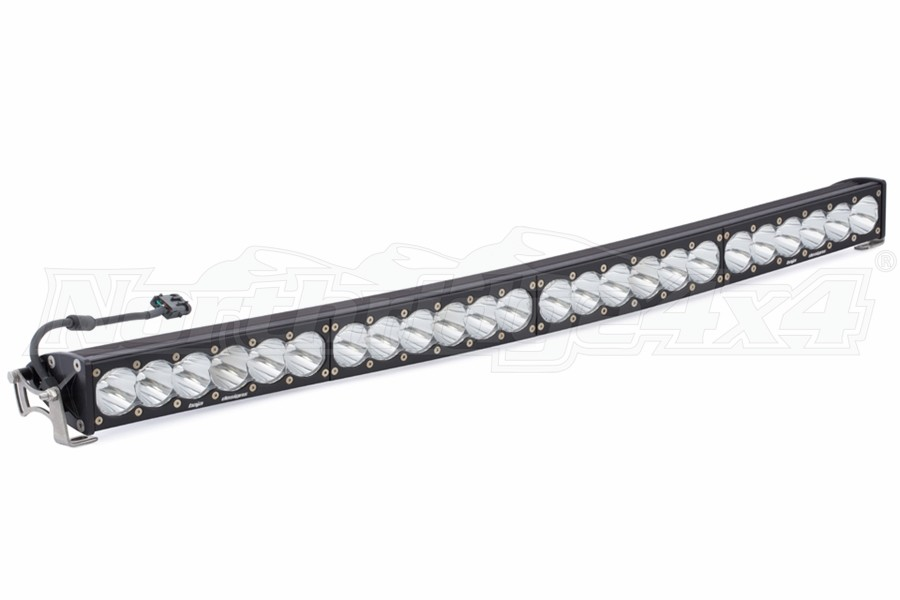 Baja Designs OnX6+ 40in Curved Light Bar - Spot, White