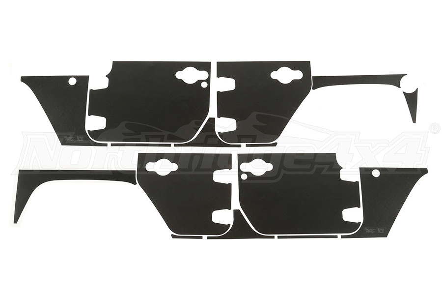 Rugged Ridge Magnetic Protection Panel Kit - JK 4DR