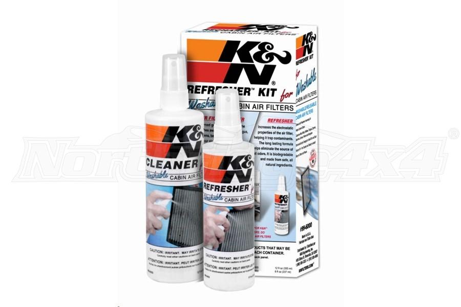 K&N Cabin Filter Cleaning Kit (Part Number:99-6000)