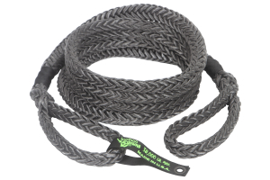 VooDoo Offroad Kinetic Recovery Rope 7/8in x 30ft Black