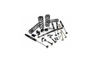JKS J-Rated 5+ 3.5IN Lift Kit w/JSPEC Shocks - JL 4dr