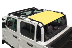 Dirty Dog 4x4 Sun Screen Rear-Yellow - JT