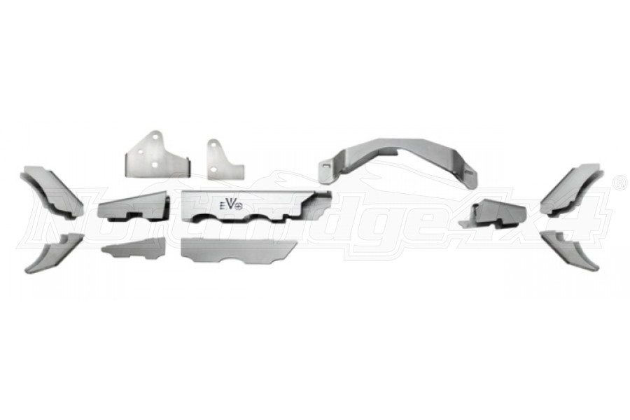 EVO Manufacturing ProTek Dana 30 Front Axle Truss and C2 Gusset Kit (Part Number:1143-30)