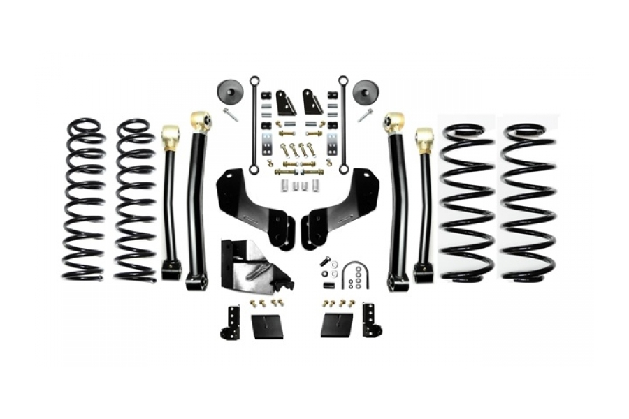 EVO Manufacturing 3.5in Enforcer Overland Lift Kit w/Shock Extensions Stage 3 (Part Number:3014S3EXT)