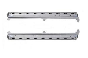 EVO Manufacturing Crew Bomber Rocker Rails, Bare Steel - JT