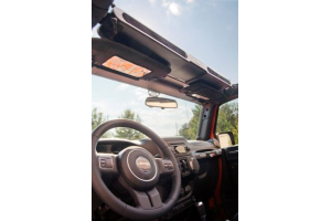 Rugged Ridge Overhead Storage Console Black - JK/TJ/YJ