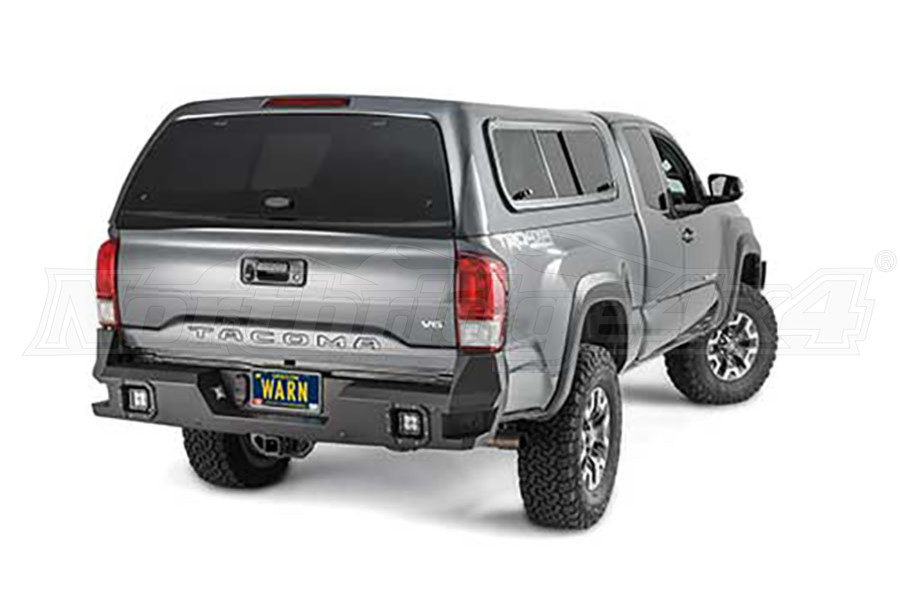 Warn Ascent Rear Bumper Toyota - Tacoma
