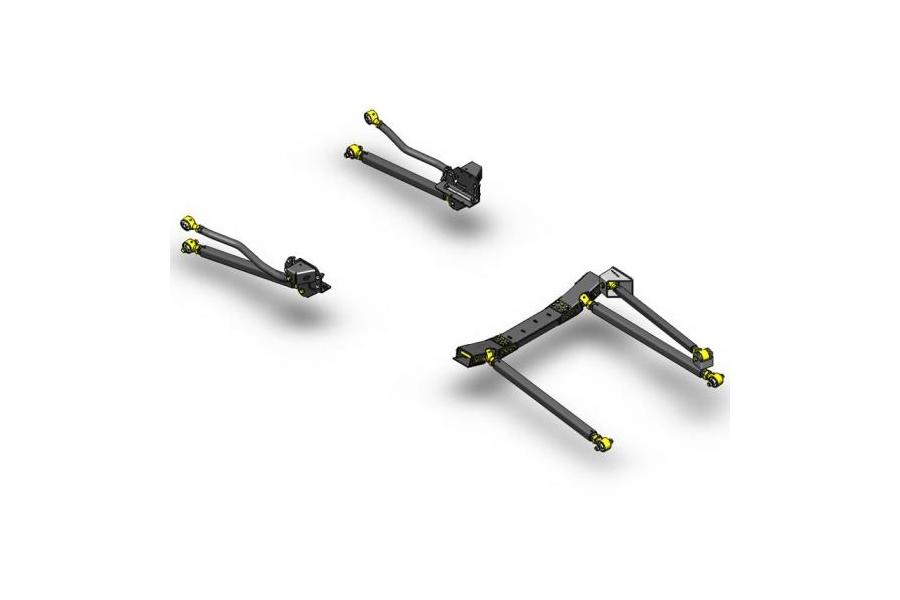 Clayton Pro Series 3 Link Long Arm Upgrade Kit  - JK 2007-11