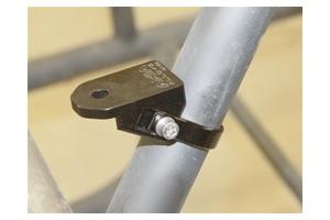 Rigid Industries 3.25in A-Pillar Bar Clamp Kit (Part Number: )