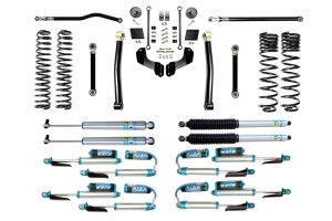 Evo Manufacturing 2.5in Enforcer Overland Stage 3 PLUS Lift Kit w/ Shock Options - JT Diesel
