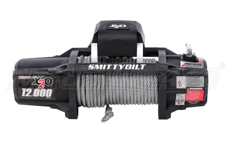 Smittybilt X-20-12 Gen2 Waterproof Winch (Part Number:97512)