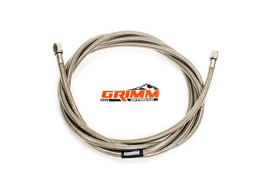 Grimm Offroad Braided Air Hose - 120in