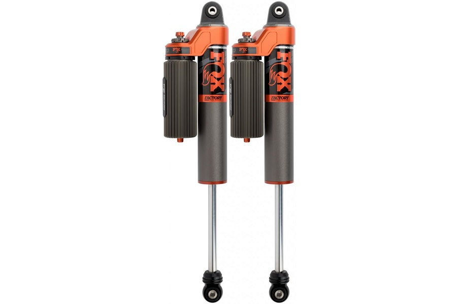 Fox 3.0 Factory Race Series Adjustable Internal Bypass Piggyback Shocks Rear - 2-3in Lift - JT