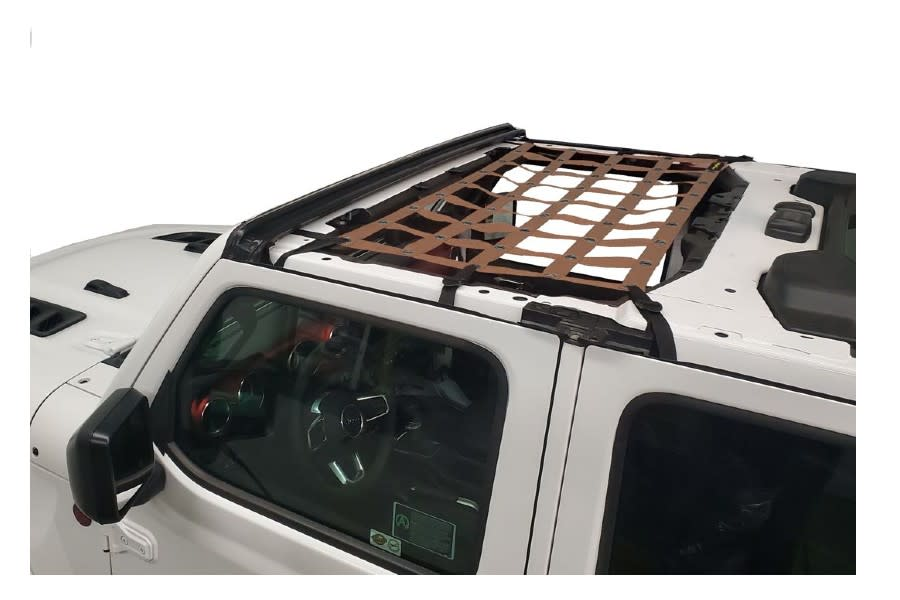 Dirty Dog 4x4 Front Seat Netting-Sand - JT