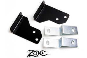 Zone Offroad 2in Rear Bumper Brackets (Part Number: )