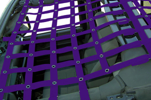 Dirty Dog 4x4 Front Netting Purple (Part Number: )