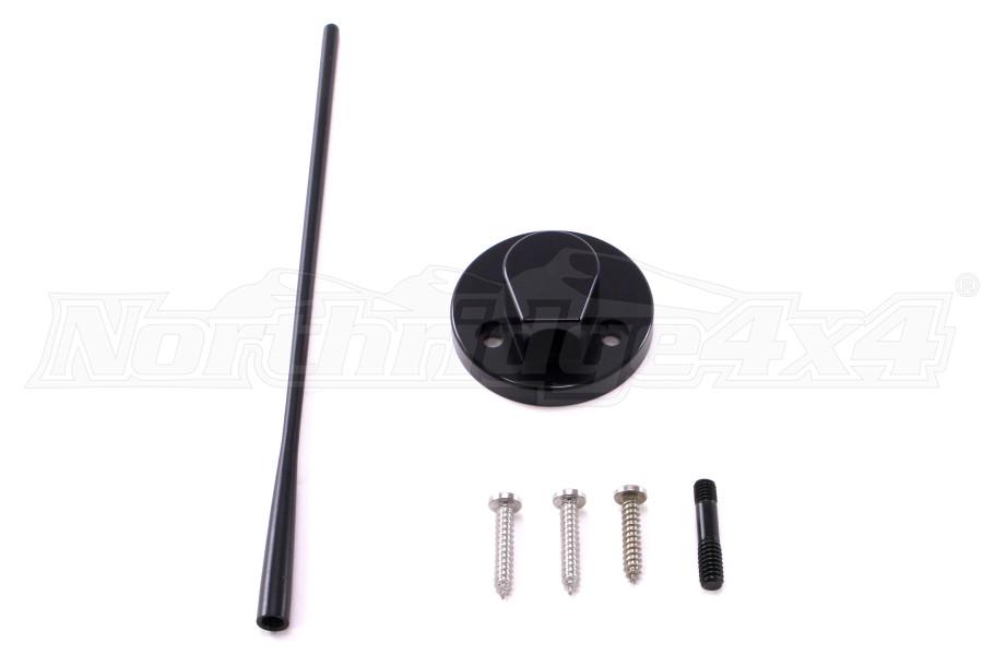 Drake Off Road Billet Antenna-Black (Part Number:JP-190012-BK)