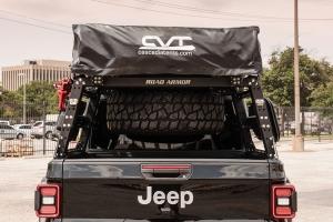 Road Armor Adjustable Bed Rack System, w/Bracket Kit - JT
