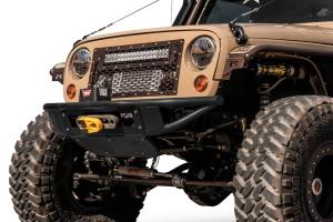 Addictive Desert Designs Venom Front Bumper with Winch Mount  (Part Number: )