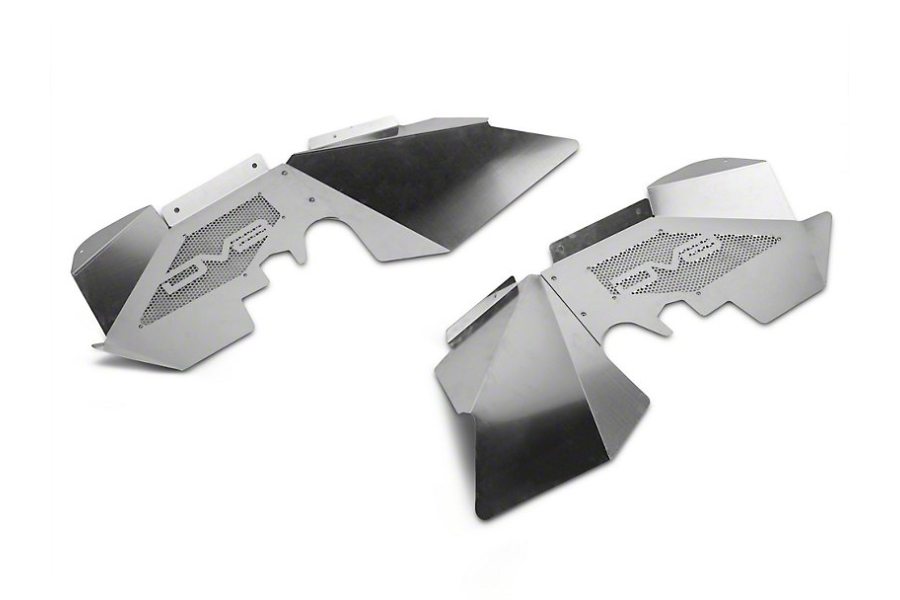 DV8 Offroad Aluminum Front Inner Fenders Raw (Part Number:INFEND-01FR)