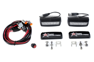 Rigid Industries SR-Q2 LED Light Kit Diffused (Part Number: )