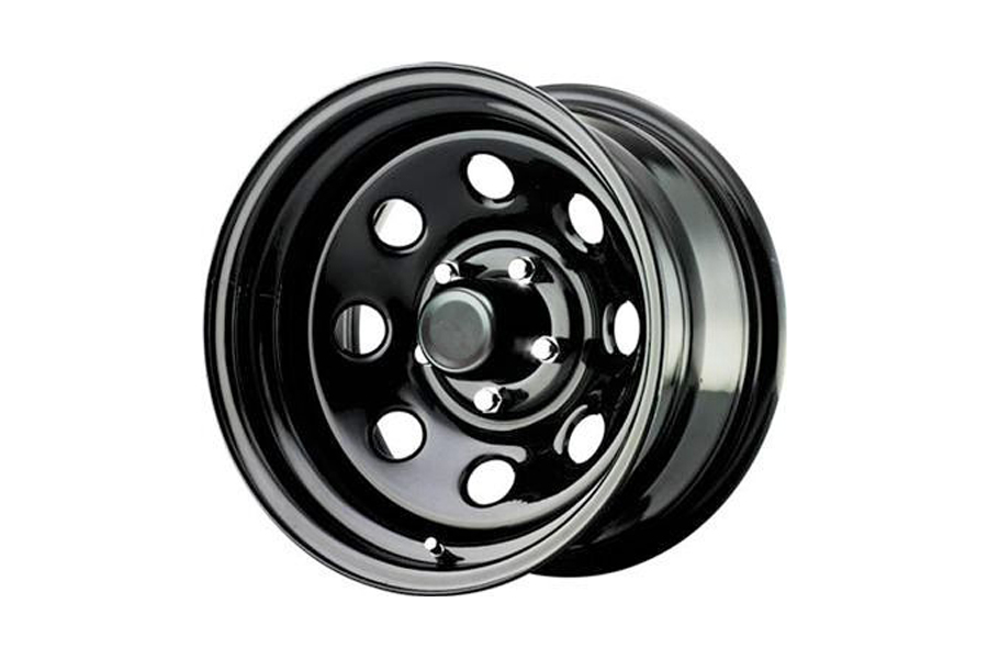 Pro Comp Rock Crawler Extreme Series 97 Gloss Black Wheel 15x8 5x4.5 (Part Number:97-5866)