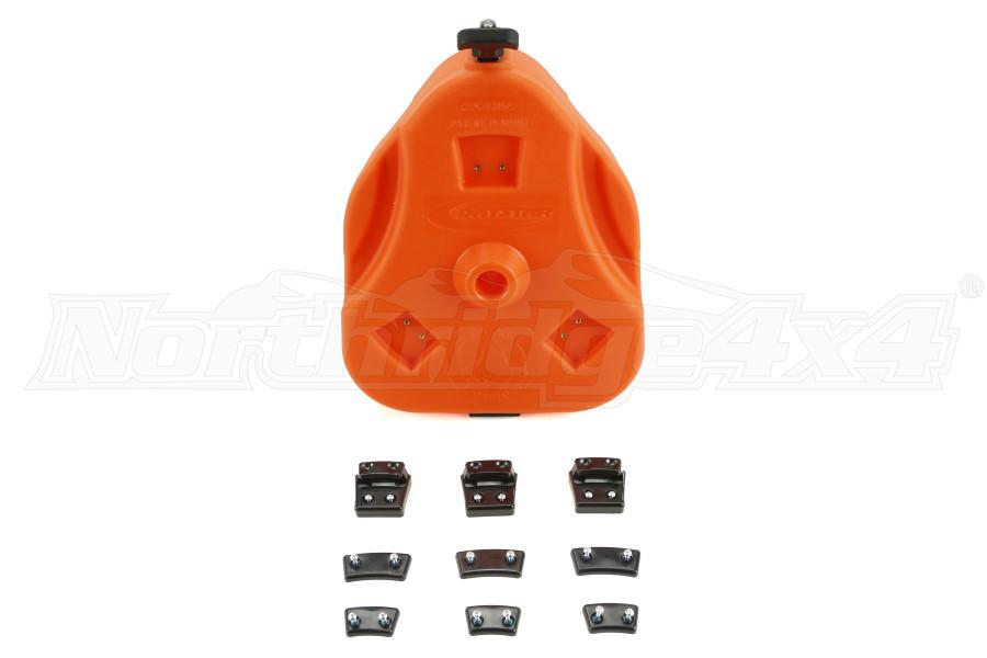 Daystar Cam Can Trail Box Orange (Part Number:KU71114OR)