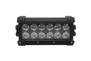 Warn WL Series Light Bar Flood 6in  ( Part Number: 93935)