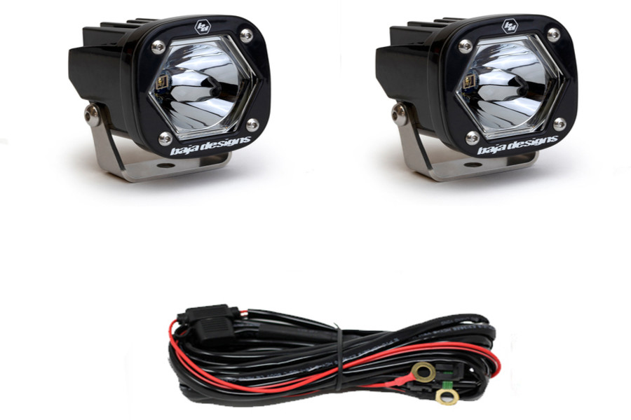 Baja Designs LED Light Pods S1 Pair Spot Laser