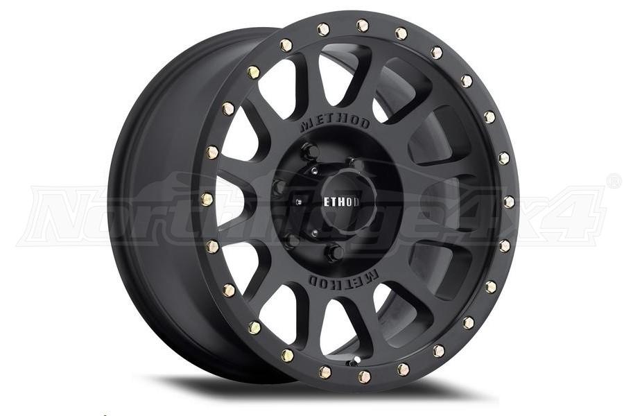 Method Race Wheels MR305 NV Matte Black Wheel 18x9 8x6.5