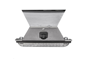 Poison Spyder Tire Carrier Delete Plate With Camera Mount - JL