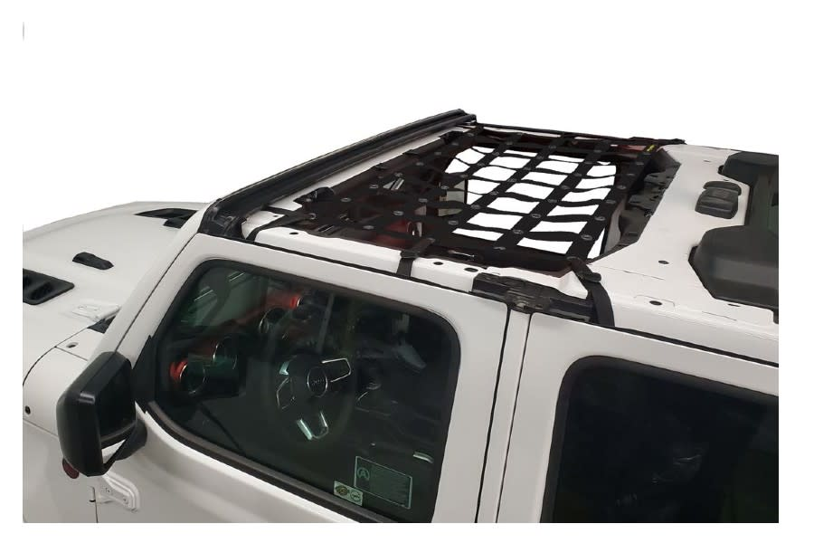Dirty Dog 4x4 Front Seat Netting-Black - JT