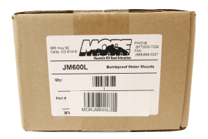 M.O.R.E. Bomb Proof Motor Mount Kit 1in Lift - LJ/TJ/YJ