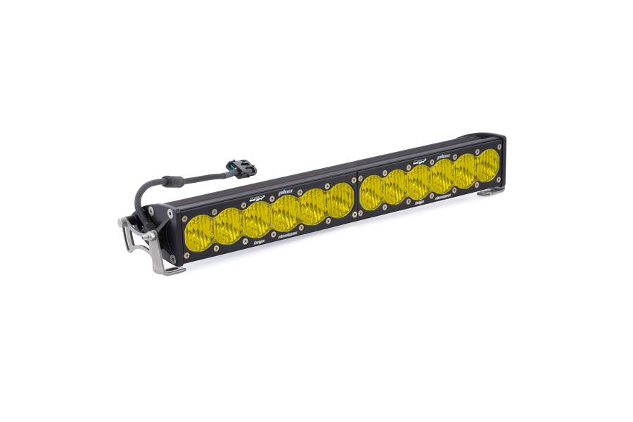 Baja Designs OnX6, 20in Wide Driving Light Bar Amber